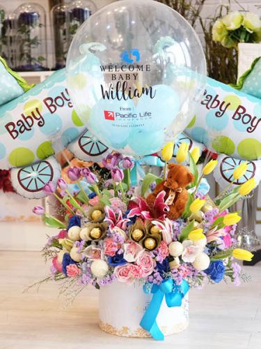 Ocean Bliss Baby Born Blossom Box