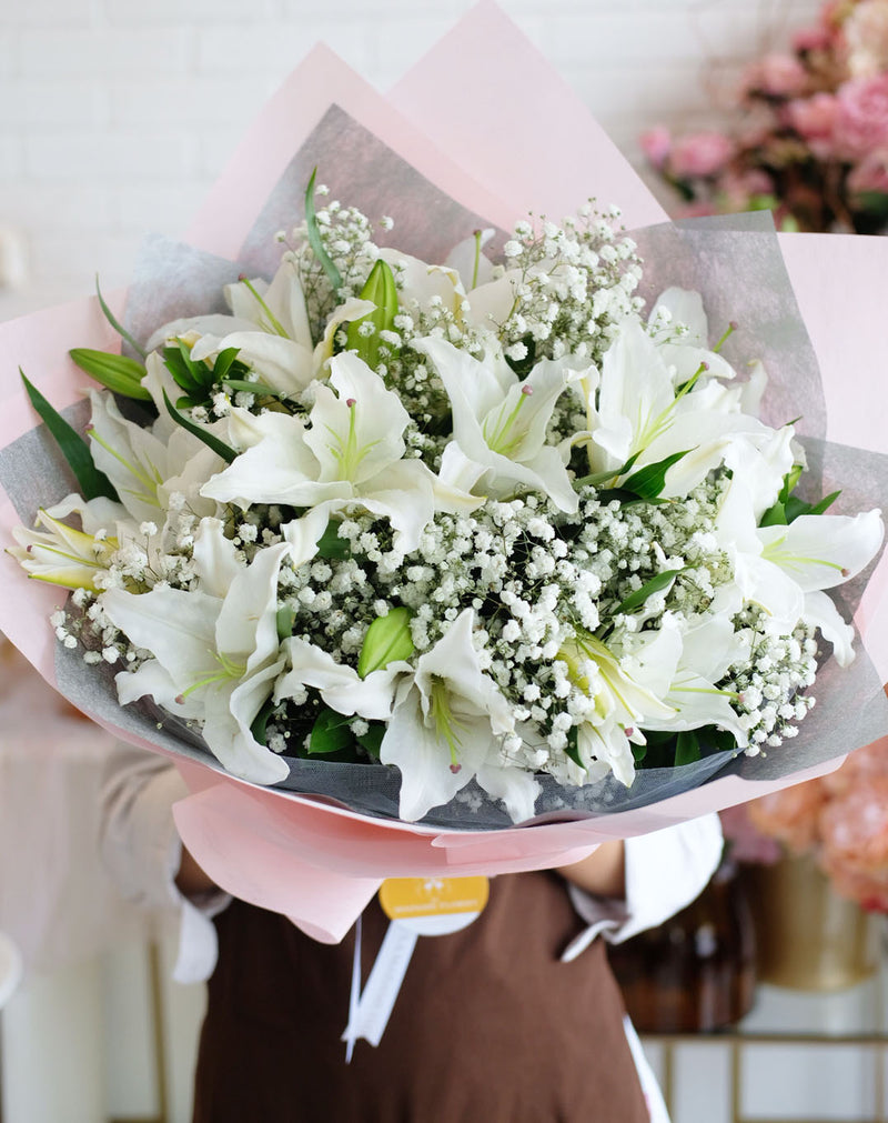 Purity White Lilies