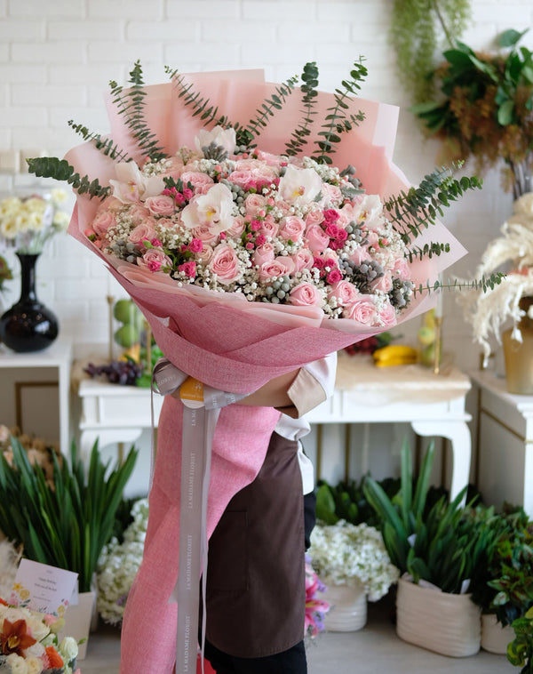 Fairy Blushing Scent Korean Style Bouquet