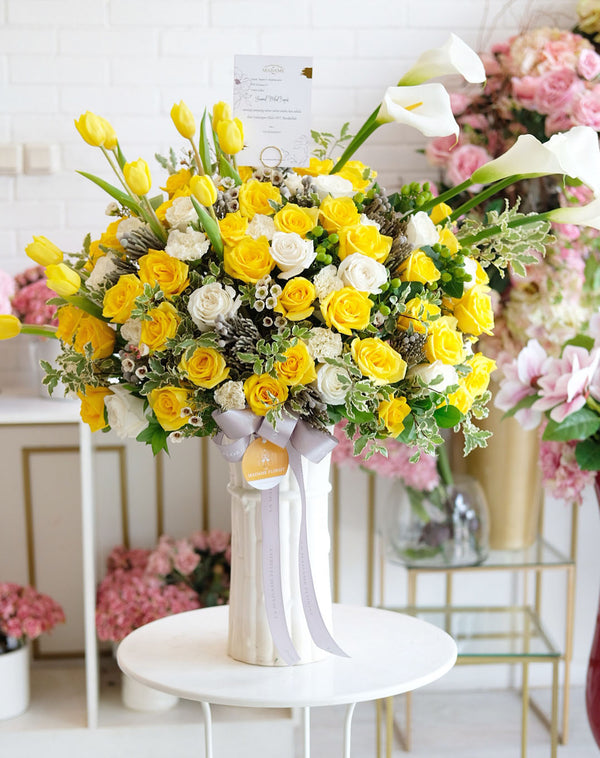 Bright Sweet Lemon Vase