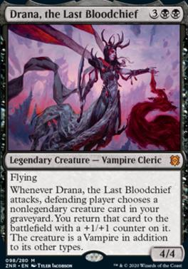 Drana, the Last Bloodchief - Near Mint FOIL