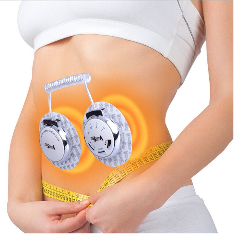 Slimming Body Vibrator Pads Fat Burning Electric Massager Waist Belly Full Body Massage Tired Relax Phisical Therapy Machine