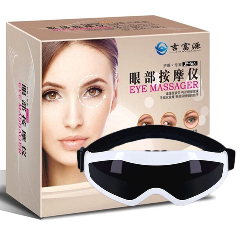 Eye Massager Acupuncture Magnetic Vibration Massage Blood Circulation Eyes Relaxation Protection Eyes Spa Phisical Therapy B12