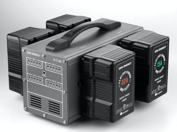 Gen Energy G-C100 V-Mount High Speed Battery Charger