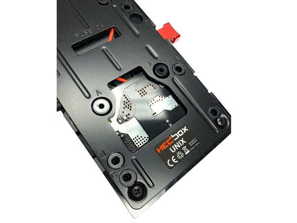 HEDBOX UNIX-12V Power V-lock Plate
