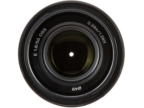 Sony E 50mm f/1.8 OSS Lens