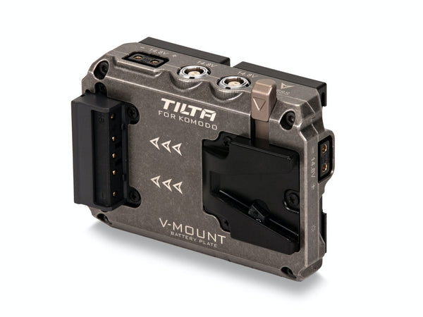Tilta Dual Canon BP to V Mount Adapter Battery Plate for RED Komodo