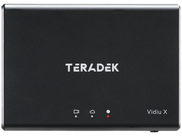 Teradek VidiU X Ultra-slim HD streaming encoder