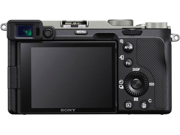 Sony Alpha a7C Mirrorless Digital Camera with 28-60mm Lens (Black/Silver)