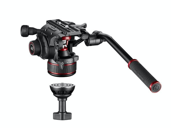 Manfrotto NITROTECH 608 & twin leg tripod