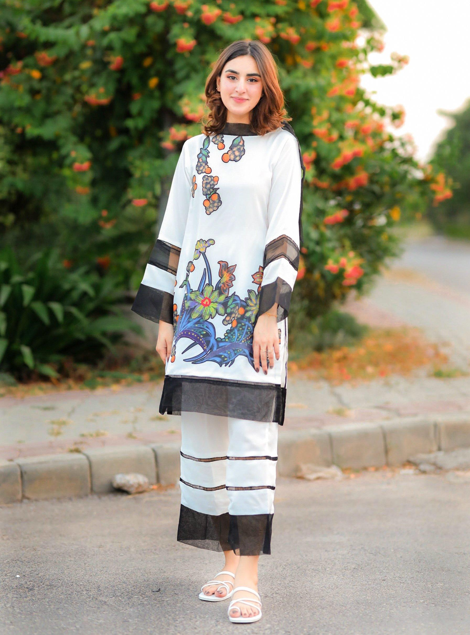Digital Sublimation Printed Grip / SilK Dress (CC-105)