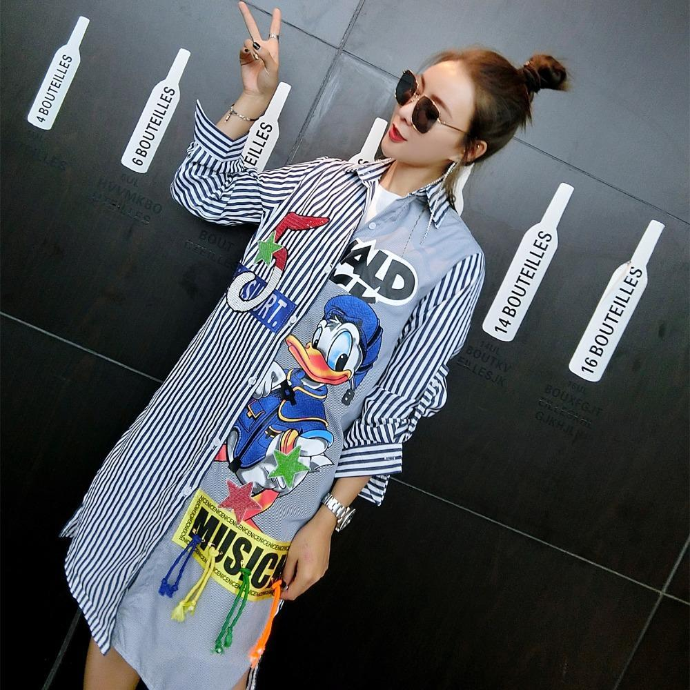 Funky Donald Duck Girl Shirt - Chilgozay Clothing