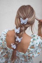 Load image into Gallery viewer, LACE BUTTERFLY CLIPS