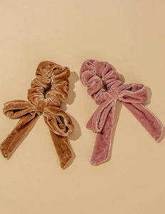 PUMPKIN PIE SCRUNCHIES (2 COLORS)