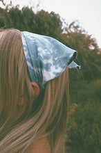 Load image into Gallery viewer, CLOUDED MORNINGS PREMADE BANDANA