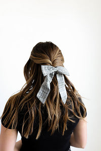 SWEAR WORDS SCRUNCHIE BOW