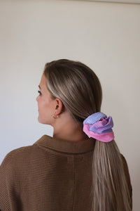 SUGAR TIME OVERSIZED SCRUNCHIES ( 2 COLORS )