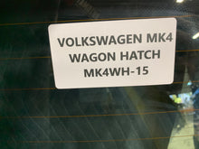 Load image into Gallery viewer, Euro Hatch - MK4 Wagon