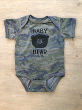Load image into Gallery viewer, Baby Bear Bodysuit Camo