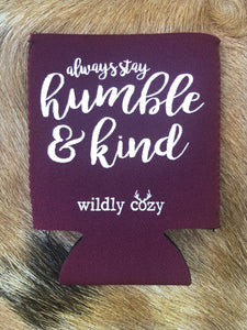 Humble & Kind Maroon