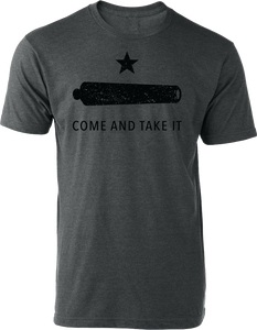 Come & Take It Tee Heather Charcoal