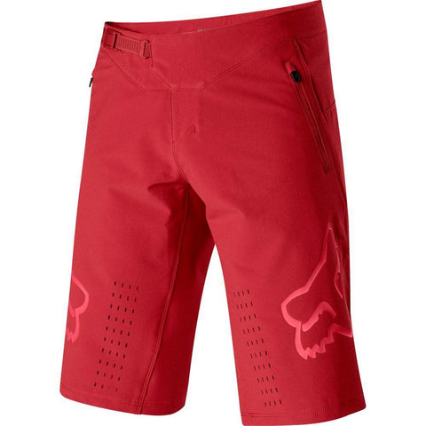 SHORT FOX DEFEND ROJO