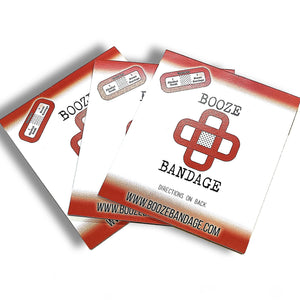 B1 Hangover Patch 3-Pack Red
