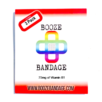 B1 Hangover Patch 3-Pack Rainbow
