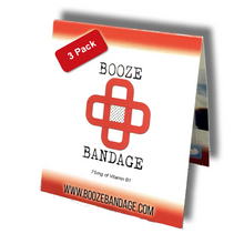 Load image into Gallery viewer, B1 Hangover Patch 3-Pack Red