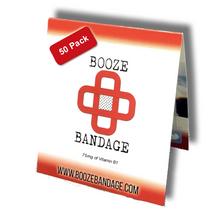 Load image into Gallery viewer, B1 Hangover Patch 50-Pack Red