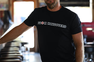 Black Hangover Mens T-Shirt