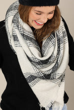Load image into Gallery viewer, Ivory Blanket Scarf