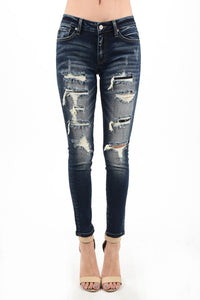 Distressed Kan Can Jeans