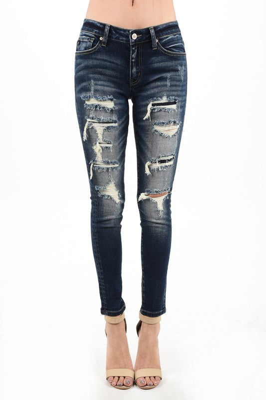 Distressed KanCan Jeans
