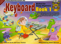 Progressive: Keyboard Book 1