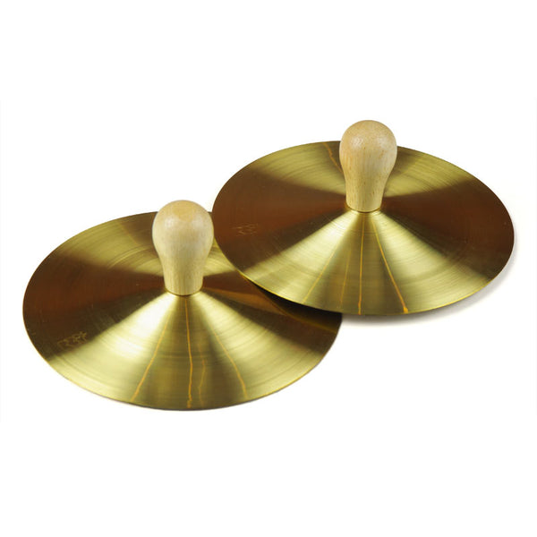 Cymbal With Wooden Handle