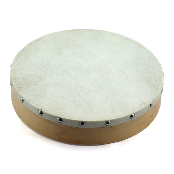 Large Wooden Hand Drum