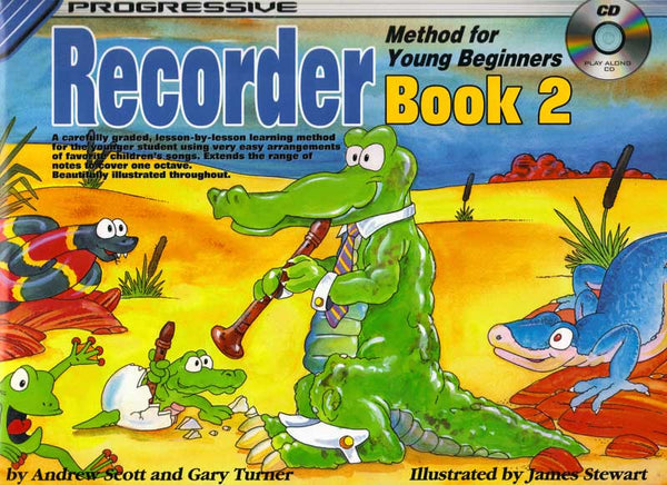 Progressive: Recorder Book 2