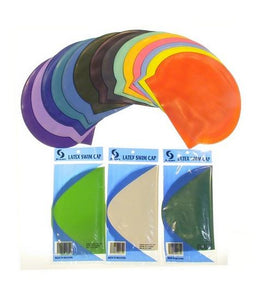 Latex Swim Cap (4 pcs)