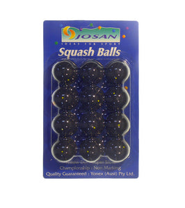 Squash Balls (pack of 12 ) Yellow/Red/Green Dot