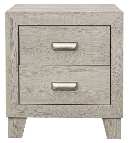Homelegance Furniture Quinby 2 Drawer Nightstand in Light Brown 1525-4 image