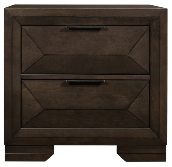 Homelegance Chesky Nightstand in Warm Espresso 1753-4 image