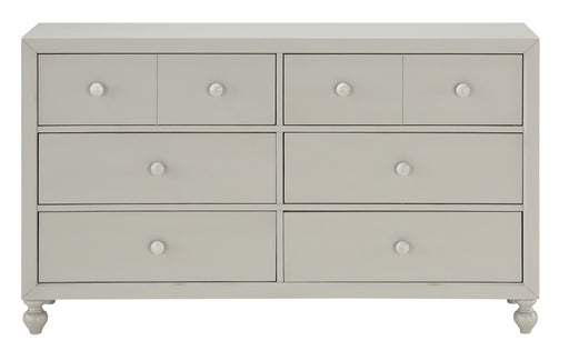Homelegance Wellsummer 6 Drawer Dresser in Gray 1803GY-5 image
