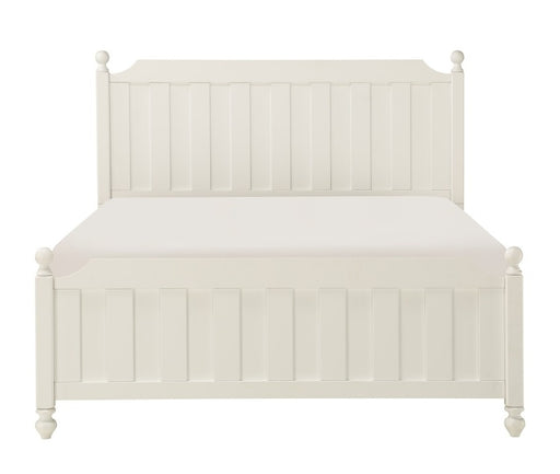 Homelegance Wellsummer Queen Panel Bed in White 1803W-1* image