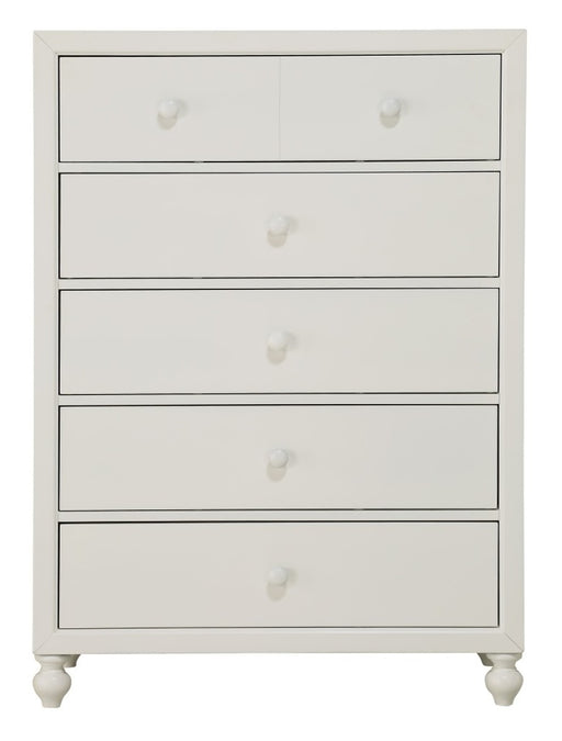 Homelegance Wellsummer 5 Drawer Chest in White 1803W-9 image