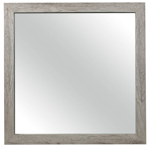 Homelegance Furniture Mandan Mirror in Weathered Gray 1910GY-6 image