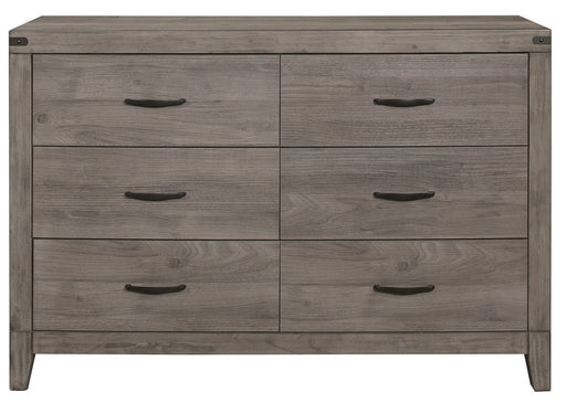Homelegance Woodrow 6 Drawer Dresser in Gray 2042-5 image
