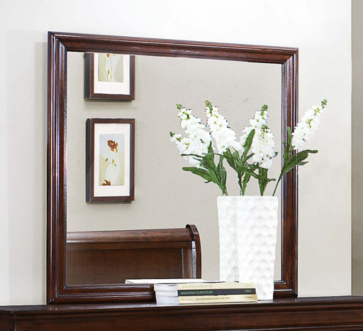 Homelegance Mayville Mirror in Brown Cherry 2147-6 image