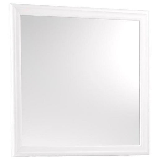 Homelegance Mayville Mirror in White 2147W-6 image