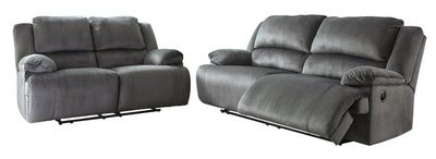 Clonmel Signature Design Contemporary 2-Piece Living Room Set